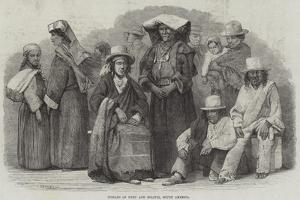 Indians of Peru and Bolivia, South America