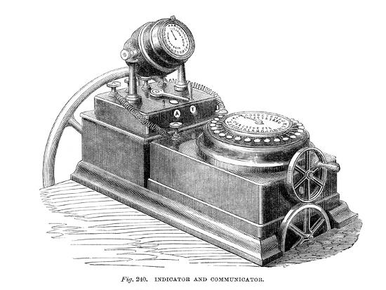 Indicator and Communicator, 1866--Giclee Print