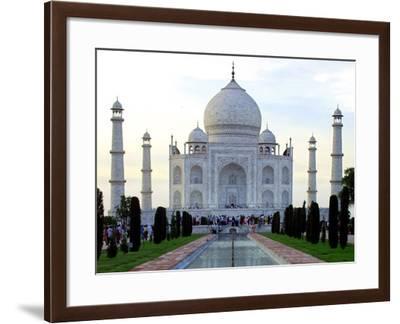 Indien Taj Mahal Jahrestag-Gurinder Osan-Framed Photographic Print