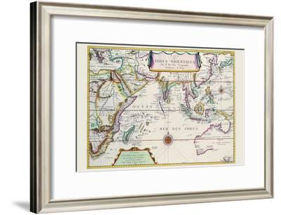 Indies Orientales; Southeast Asia-Pierre Duval-Framed Art Print