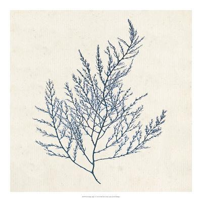 Indigo Algae I-Jennifer Goldberger-Art Print