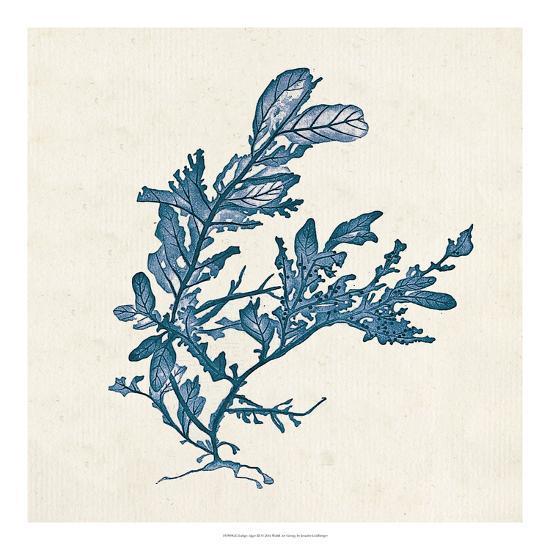 Indigo Algae III-Jennifer Goldberger-Art Print