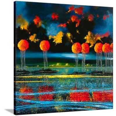 Ford Smith Canvas: Indigo Ambition Limited Edition On Canvas By Ford Smith