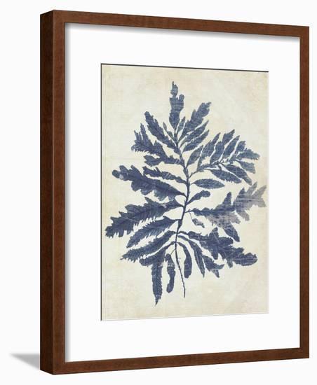 Indigo Blue Seaweed 2 b-Fab Funky-Framed Art Print