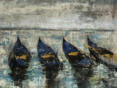 Indigo Boats-Alexys Henry-Giclee Print