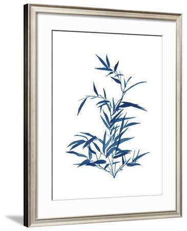 Indigo Botanica II-Naomi McCavitt-Framed Art Print