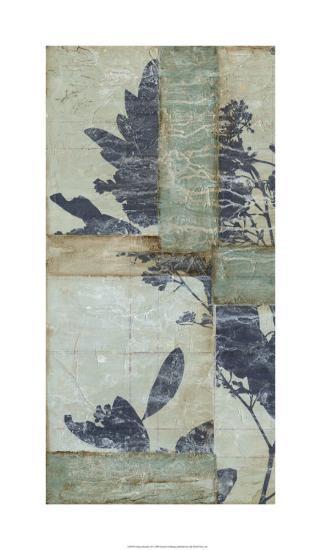 Indigo Branches II-Jennifer Goldberger-Limited Edition