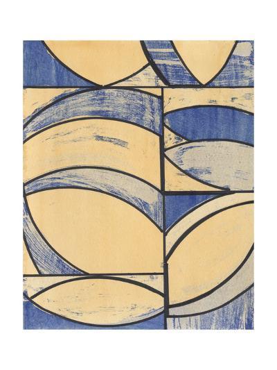 Indigo Complement I-Charles McMullen-Art Print