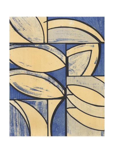Indigo Complement III-Charles McMullen-Art Print