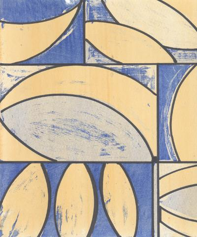 Indigo Complement IV-Charles McMullen-Art Print