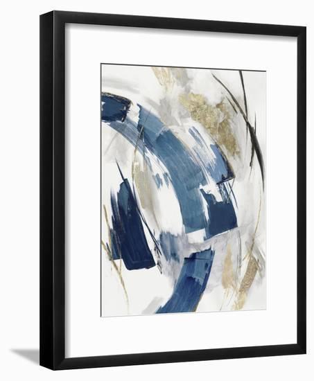 Indigo Crescent II-PI Studio-Framed Art Print