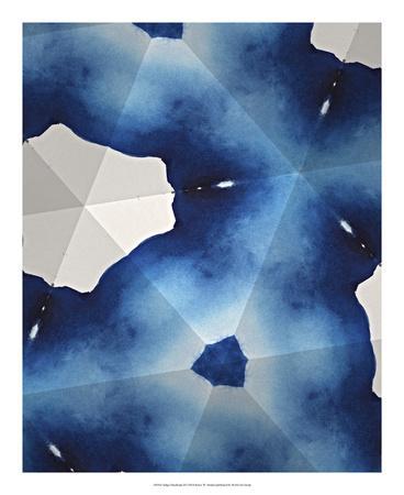 Indigo Daydream III-Renee W^ Stramel-Giclee Print