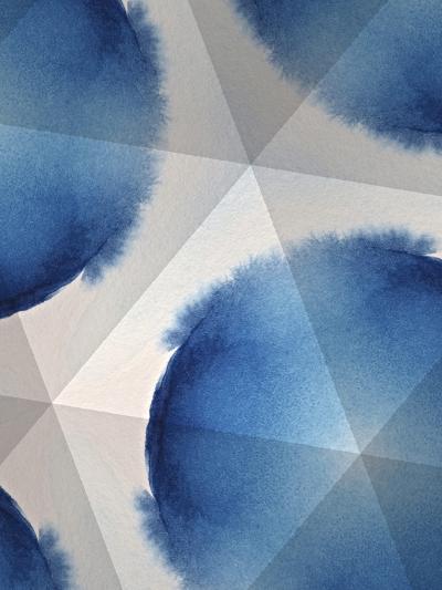 Indigo Daydream VI-Renee W^ Stramel-Art Print