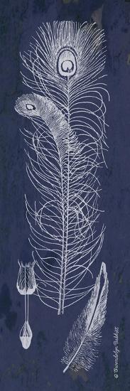 Indigo Feathers II-Gwendolyn Babbitt-Art Print