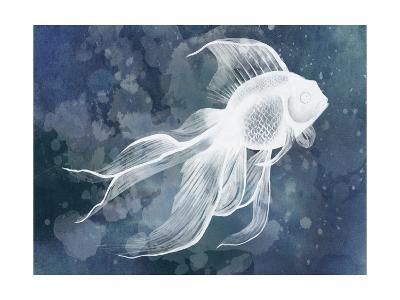 Indigo Fish II-Grace Popp-Art Print