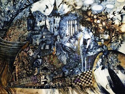 Indigo Fish-Oxana Zaika-Giclee Print