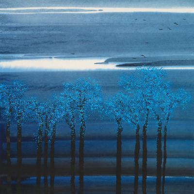 Indigo Forest I--Art Print
