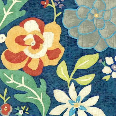 Indigo Garden III-Chariklia Zarris-Premium Giclee Print