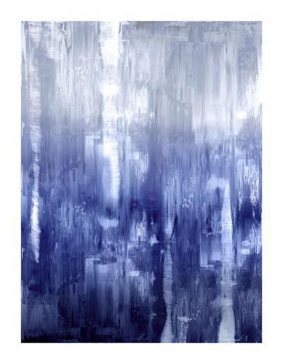 Indigo Gradation-Justin Turner-Giclee Print