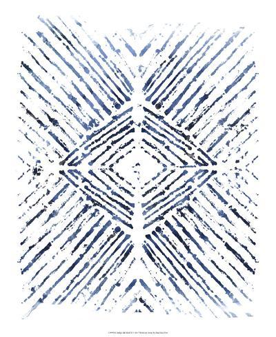 Indigo Ink Motif VI-June Erica Vess-Art Print