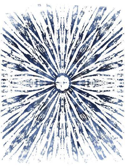 Indigo Ink Motif VIII-June Vess-Art Print