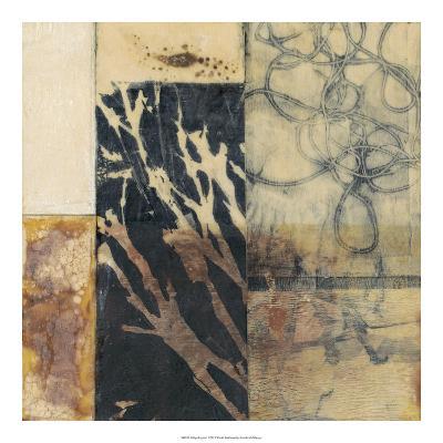 Indigo Layers I-Jennifer Goldberger-Premium Giclee Print