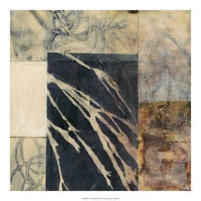 Indigo Layers II-Jennifer Goldberger-Premium Giclee Print