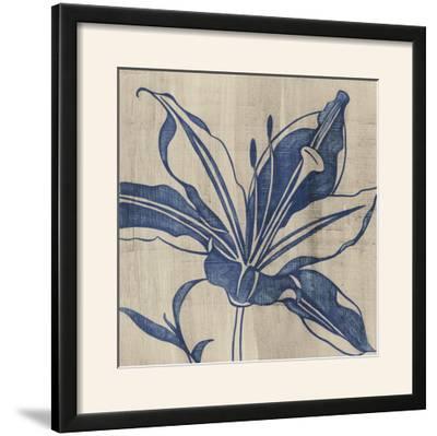 Indigo Lily-Chariklia Zarris-Framed Photographic Print