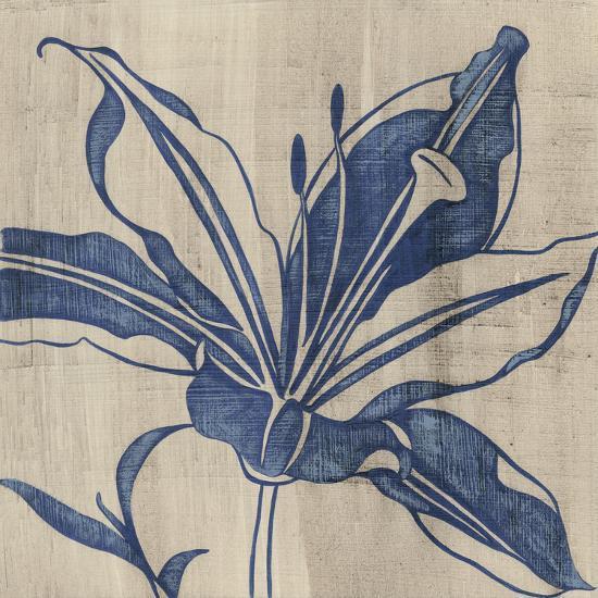 Indigo Lily-Chariklia Zarris-Art Print