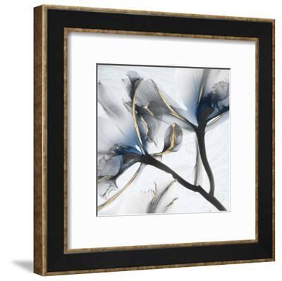 Indigo Luster Marble 2-Albert Koetsier-Framed Art Print