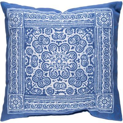 Indigo Mandala Pillow