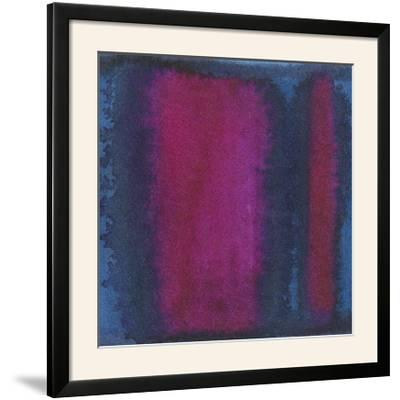 Indigo Meditation I-Renee W^ Stramel-Framed Photographic Print