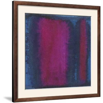 Indigo Meditation I-Renee W^ Stramel-Framed Photographic Print