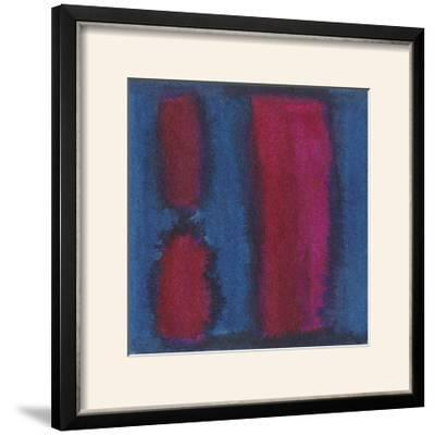 Indigo Meditation II-Renee W^ Stramel-Framed Photographic Print