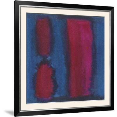 Indigo Meditation II-Renee W^ Stramel-Framed Photographic Print