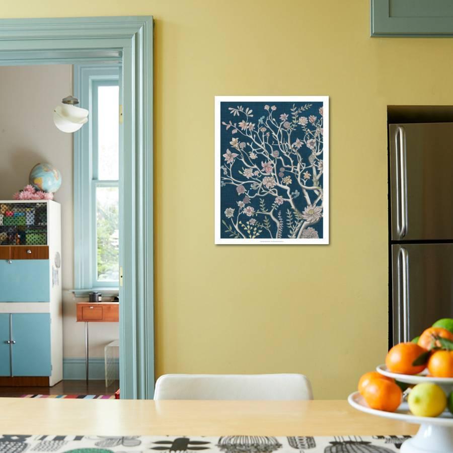 Indigo Night Chinoiserie I Giclee Print by Naomi McCavitt   Art.com