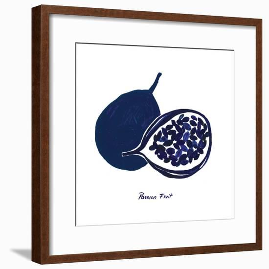Indigo Passion Fruit-Aimee Wilson-Framed Art Print