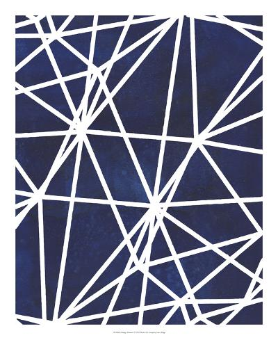 Indigo Pattern I-Grace Popp-Art Print