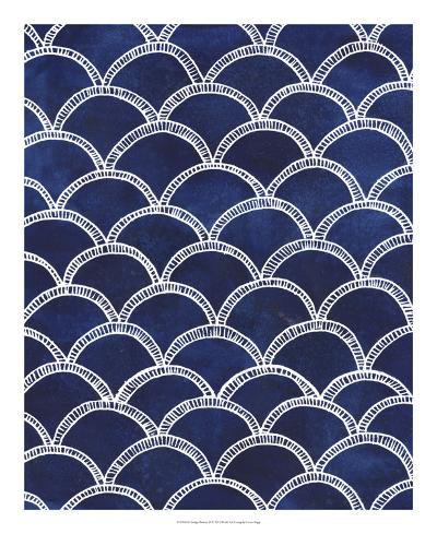 Indigo Pattern II-Grace Popp-Art Print