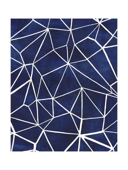 Indigo Pattern III-Grace Popp-Art Print