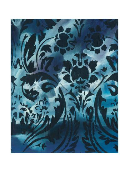Indigo Patterns I-Arielle Adkin-Art Print