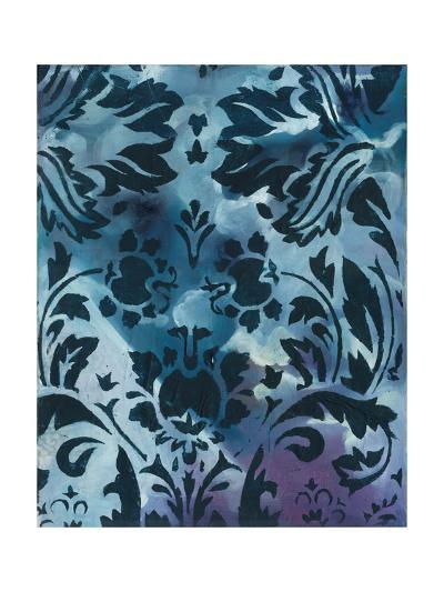 Indigo Patterns II-Arielle Adkin-Art Print