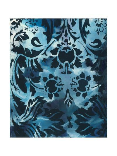 Indigo Patterns III-Arielle Adkin-Art Print