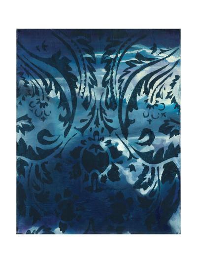 Indigo Patterns IV-Arielle Adkin-Art Print