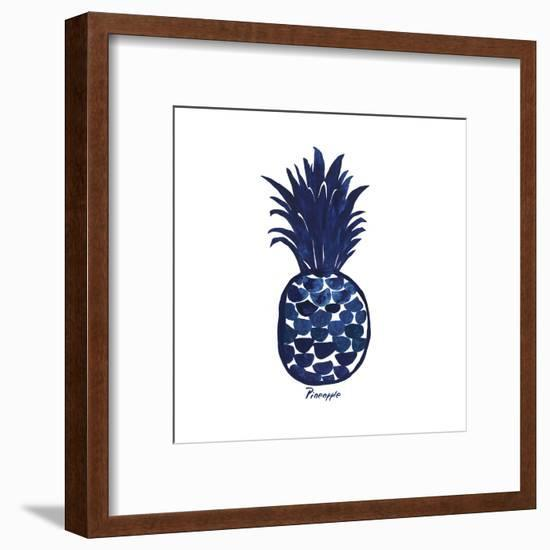 Indigo Pineapple-Aimee Wilson-Framed Art Print