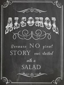 Alcohol Salad by Indigo Sage Design