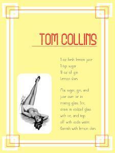 Cocktail Tom Collins by Indigo Sage Design