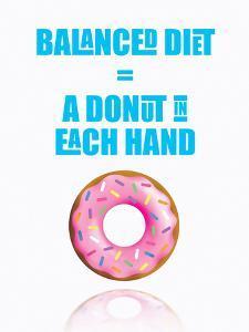Donut Diet by Indigo Sage Design