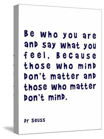 Dr Seuss Quote Navy