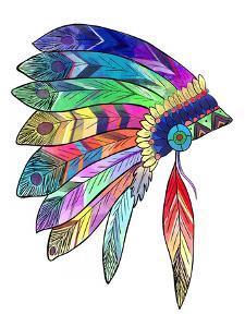 Headdress Colourful by Indigo Sage Design